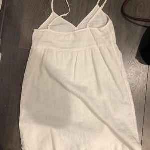Aritzia TNA white summer dress XS